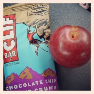 Clif bar and apple copy