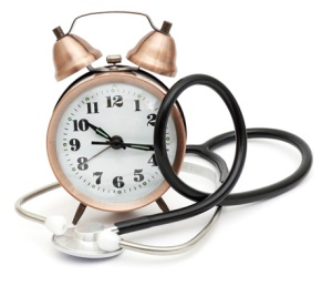 clock-and-stethoscope