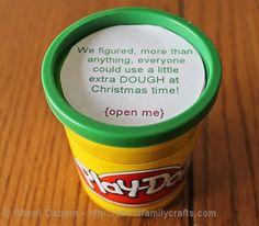 gift playdough