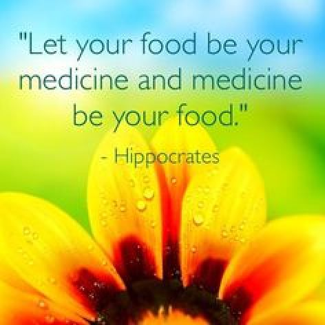 food be your medicine